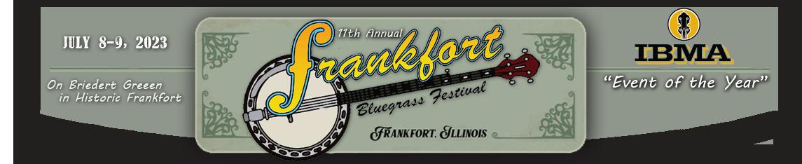 2019 Frankfort Bluegrass Festival